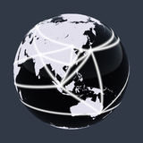 Red del mundo Imagen de archivo