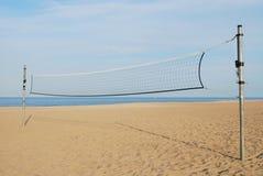 Red del voleibol Fotos de archivo