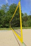 Red del voleibol Imágenes de archivo libres de regalías