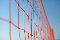 Red del voleibol de la playa Fotos de archivo libres de regalías