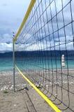 Red del voleibol de la playa Fotografía de archivo libre de regalías