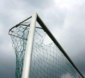 Red del wth de la meta del fútbol fotografía de archivo