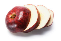 Red Delicious Apple. On White Background Stock Image