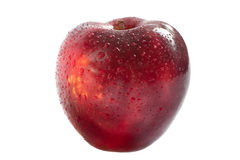Red delicious apple isolated Royalty Free Stock Photography