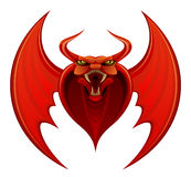 Red demon Stock Images