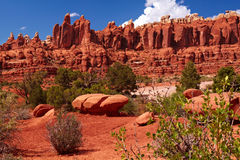 Red Desert. Arches National Park, Utah, USA Royalty Free Stock Photography