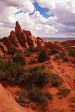 Red Desert Stock Image