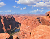 Red Desert and Colorado River Royalty Free Stock Photos
