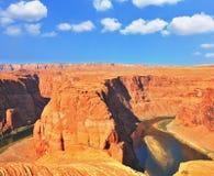 The Red Desert and Colorado River Stock Photos