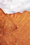 Red desert Stock Photo