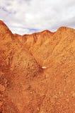Red desert. Hills in red desert, in Tatacoa Colombia Stock Photo