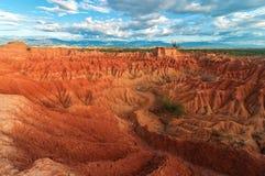 Red Desert Landscape Stock Photo