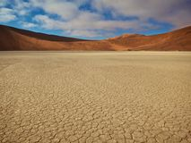 The Red Desert Royalty Free Stock Photo