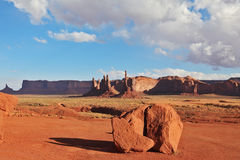 Red Desert. Navajo Reservation in the U.S. Stock Photos