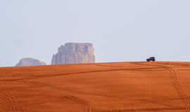 Red desert of Riyadh Stock Photo