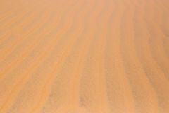 red Desert sand dunes texture pattern red Desert sand dunes texture pattern in summer Royalty Free Stock Image