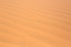 red Desert sand dunes texture pattern red Desert sand dunes texture pattern in summer Royalty Free Stock Images
