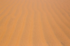 Red Desert sand dunes texture pattern red Desert sand dunes texture pattern in summer Royalty Free Stock Photography
