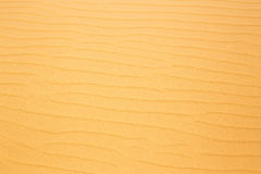 Red Desert sand dunes texture pattern in summer Royalty Free Stock Photography