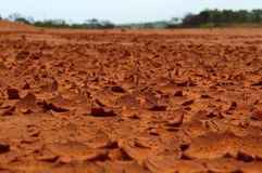 The Red Desert South Africa Stock Image