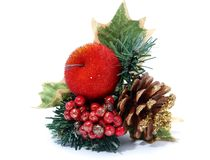 Red design for christmas Royalty Free Stock Images