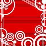 Red Design grunge retro background Stock Image