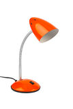 Red desk lamp Royalty Free Stock Images