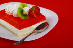 Red dessert Royalty Free Stock Images