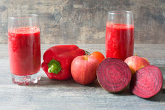 Red detox Royalty Free Stock Photography