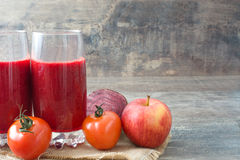 Red detox Royalty Free Stock Images