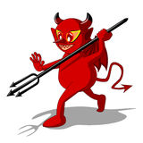 Red devil Royalty Free Stock Photo