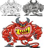 Red devil from the hell Royalty Free Stock Photo
