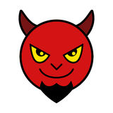 Red Devil Icon Royalty Free Stock Photography