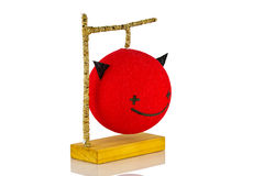 Red Devil Lamp Royalty Free Stock Photography