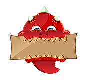 Red Devil Mascot Stock Photo