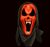 Red devil mask Stock Images