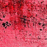 Red Devil's bloody wall texture Stock Images