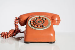 Red dial phon Stock Images