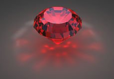 Red Diamond Royalty Free Stock Images