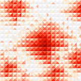 Red diamond mosaic background Royalty Free Stock Image