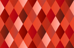 Red Diamond Polygon Background Royalty Free Stock Image