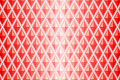 Red diamond shaped quadrangle Stock Photo