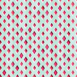Red diamonds seamless pattern Royalty Free Stock Images