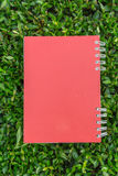 Red diary note Royalty Free Stock Images