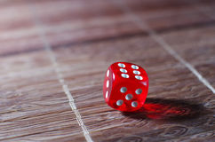Red dice Stock Photography