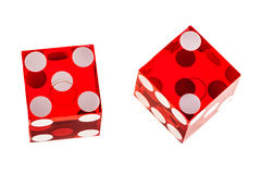 Free Red Dice Isolated Royalty Free Stock Photo - 74783595