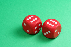 Free Red Dices Stock Image - 1749221