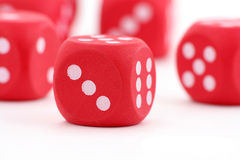 Free Red Dices Royalty Free Stock Image - 1754116