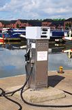 Red diesel dispenser, Barton-under-Needwood. Royalty Free Stock Photos