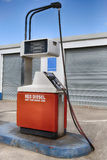 Red Diesel. A Pump which dispenses red diesel stock photography
